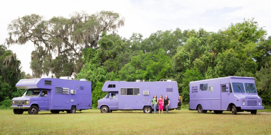 Doggie Styles – Purple Trucks and Benefits of Mobile Services