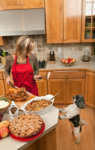 With Thanksgiving coming up, it's a good idea to know what foods are safe for your pets.